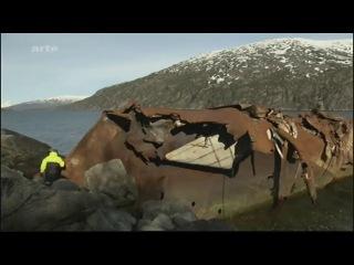Voyage a bord du train legendaire de Kiruna, en Suede, a Narvik. (360° GEO-ARTE).