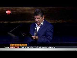 Sadri Alışık Sinema ve Tiyatro Oyuncu Ödülleri töreni