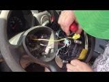 Как снять рулевое колесо (руль) на Fiat Doblo (Фиат Добло)
