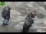Как чихают суровые Челябинские мужики :)