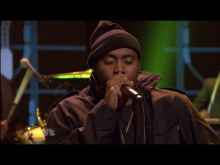 Nas feat. Q-Tip & The Roots - One Love (Jimmy Fallon Live) [Rhymes & Punches]