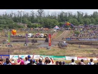 Гонки на тракторах Бизон-Трек-Шоу-2014. Финал
