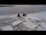 Зима а мы купаемся 4