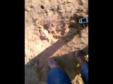 Расческой в песок