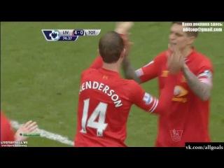 Ливерпуль 4-0 Тоттенхэм / Гол Хендерсон