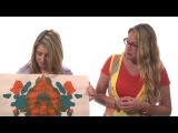 Susan and Lauren explore the Rorschach tests.