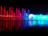 Цветные фонтаны Шарджы (ОАЭ) с лазерным шоу