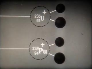 НаучФильм СССР. Атомная физика. 10 ''Ядерные реакции'' 1988 г.