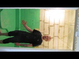 Устройство пола в ванной !