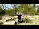Оптические иллюзии с помощью 4х колец