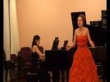 Давыдова Юлия Талантливо играет на международном конкурсе