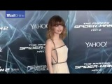 Emma Stone rocks the red carpet at NYC Spider-Man 2 premiere