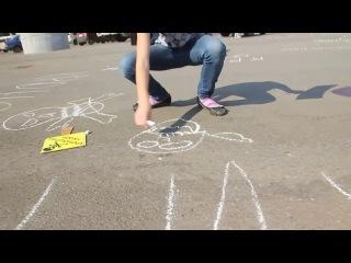 Марш матерей в г.Уфе против строительства завода