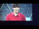 [FANCAM] 140411 EXO: Sehun, Kris, Suho (talk) @ Greeting Party in Japan 'Hello'