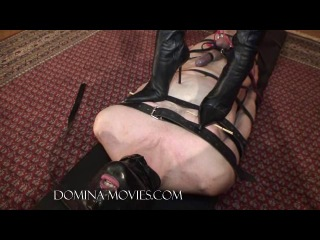 Madame Catarina in forced under heels. Full movie
