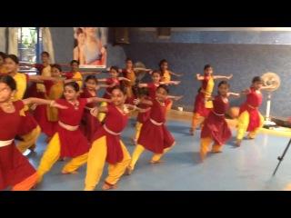 Practice session Bharatanatyam