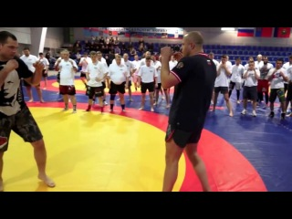 ������� ������� ������ ����������� (striking by Fedor Emelianenko) ! ������� ����� MMA.  ����� 1