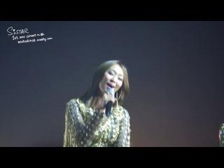 [FANCAM]140402 HyoRin - Let It Go @ 1st Mini-Concert 'S' In Hong-Kong