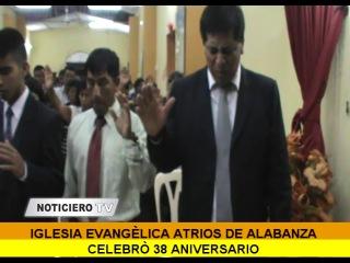 28-04-14 iglesia evngelica atrios de alabanza celebro 38 aniversario