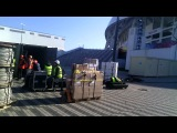 19.03.2014 loading AgorA's container