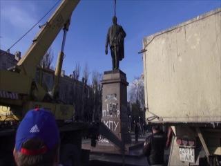 Ленинопад в Днепродзержинске