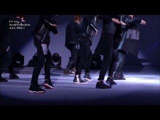 130321 EXO @ Seoul Fashion Week Show