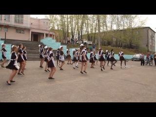 Флэшмоб на площади города Могочи)))