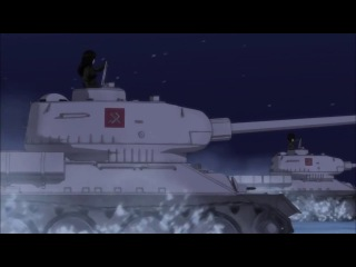 Катюша / Katyusha (full version) AMV - Girls und Panzer OST