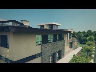 Проект загородного коттеджа и гостевого дома