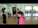 репетиция танца Дети 21 века