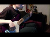 Dark Tranquillity - Auctioned (bass cover)