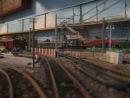 Макет железной дороги Электровоз ВЛ23 с грузовым поездом