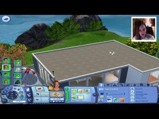 Виртуальная Саша Спилберг -- The Sims 3 Райские Острова -- Детка Геймер #2.