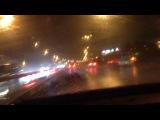 Chrysler le baron in the rain