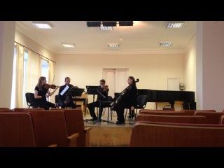 П.Хиндемит – Струнный квартет No.2 in F minor, Op. 10