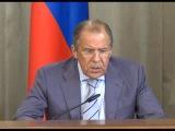 Сергей Лавров - очередной призыв к здравомыслию киевских безумцев 27 05 2014