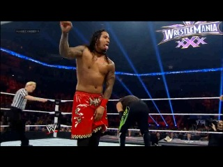 (WWEWM) Elimination Chamber 2014 - The New Age Outlaws (Road Dogg & Billy Gunn) (c) vs. The Usos (WWE Tag Team Championship)