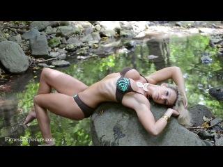 Noemi Olah IFBB Bikini Pro Fitness Model Outdoor Photoshooting Video Part 1.