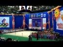Алина Кабаева в Нижнекамске открыла турнир по художественной гимнастике. В спорткомплексе «Нефтехимик», расположенном в Нижнекамске, сегодня начался спортивный турнир по гимнастике «Алина-2014», который проводится ежегодно уже несколько лет подряд. Открыла турнир Алина Кабаева – глава благотворительного фонда, на деньги которого уже четвертый год подряд проводятся соревнования. Участие в турнире примут 850 молодых спортсменок из 53 команд, приехавших в Нефтекамск со всей России. После открытия соревновани