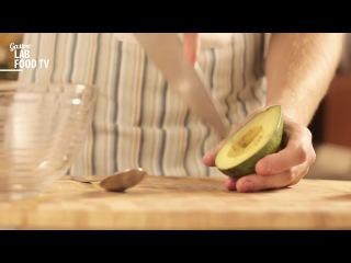 Как почистить и нарезать авокадо