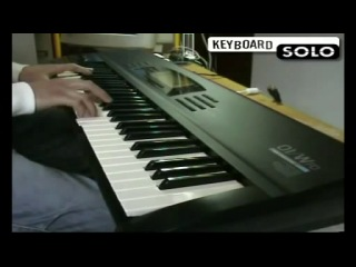 Korg 01W_FD Synth workstation Demonstration