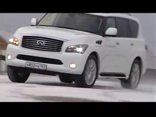 Автомобиль Infiniti QX (Инфинити QX). Видео тест-драйв