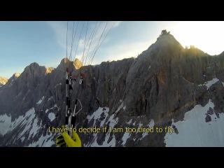 Параплан и Альпы = Красотища! GoPro- Red Bull X Alps