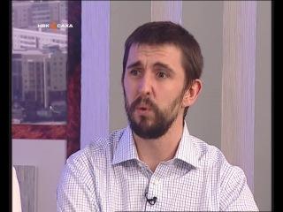 Преподаватель Алекс Харт на телеканале НВК Саха