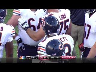 Американский футбол, NFL 2014-2015, Week 02, 14.09.2014, Chicago Bears - San Francisco 49ers, 1 половина, RU (36th Studio) А. Кондратенко