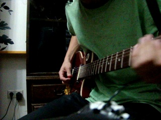 Типо LesPoll от меня или гитара для метола)