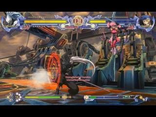BlazBlue versus Haku-men vs Noel