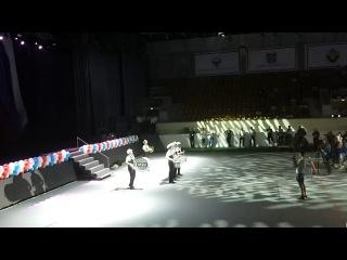 ТОР ВЕАТ на открытии чемпионата России по боксу во Дворце Спорта