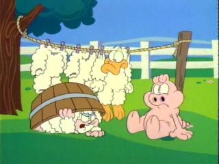 Гарфилд и его друзья Garfield and Friends 1 Сезон 3 Серия