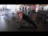 Тренировка дельт, плеч. Рассказывает и показывает Виктор Мартинес (Victor Martinez)
